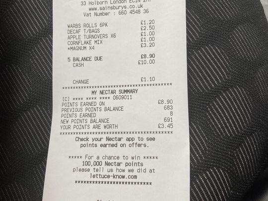 Food shopping in Ealing