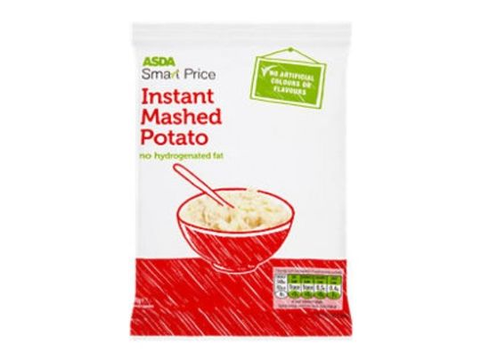 Where's the instant mash?!