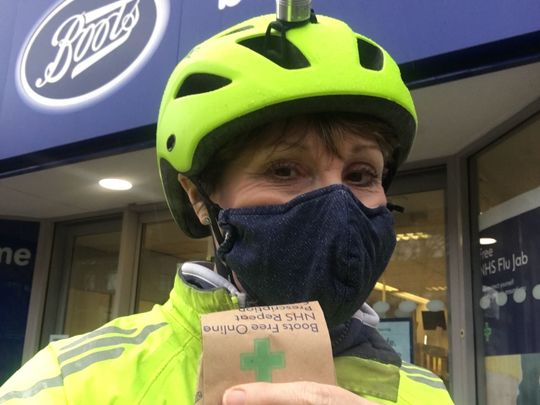 Winter cycle to Summertown
