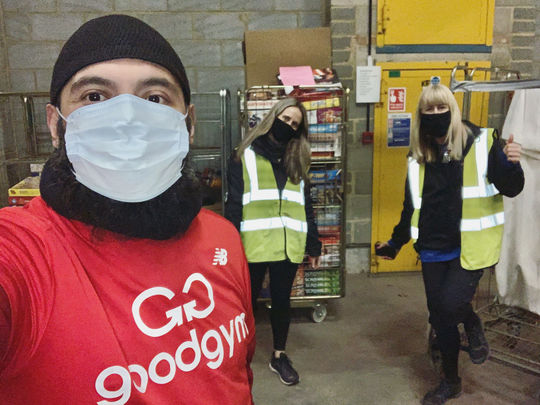 GoodGym at the Crisis Warehouse!