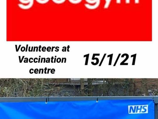 Five go vaccinating