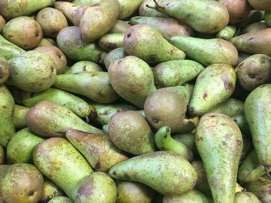 A nice pear.