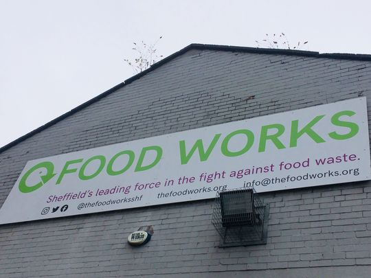 Good Gym Sheffield's first mission for Food Works