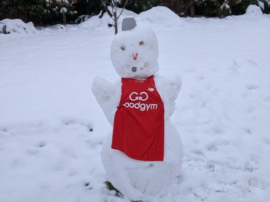 S'no real parkrun ... It's a GoodGym parkrun