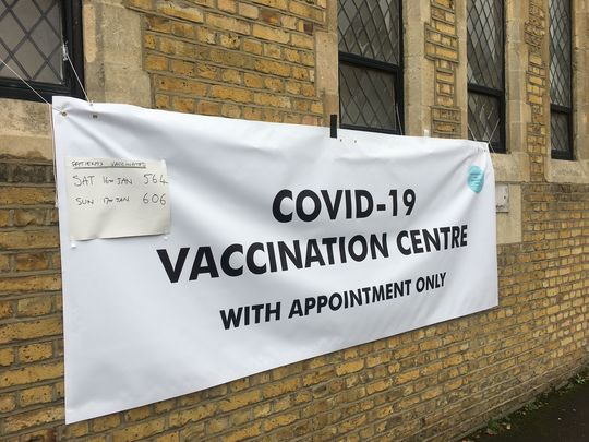 First shift for Kingston's vast vaccine roll out