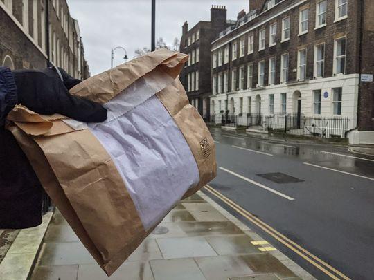 Paper bag expediter