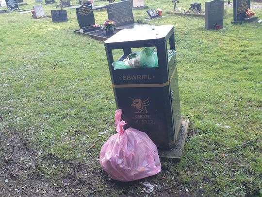 Saturday litter pick