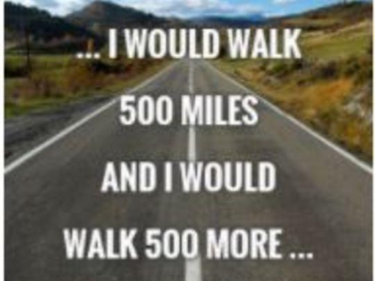 Keep on Walking!