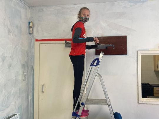 Freshening things up with paint in Bramley