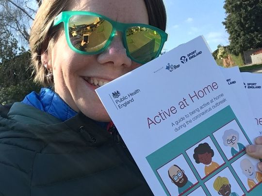 Leafleting for Think Active
