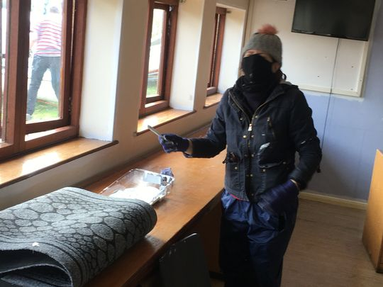 White Paint and Promises at Fairlop Activity Centre