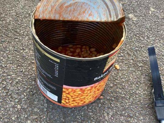 We've bean litter picking