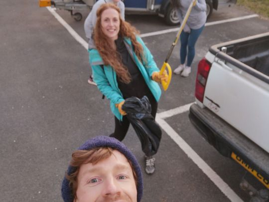 Plogging and parakeets