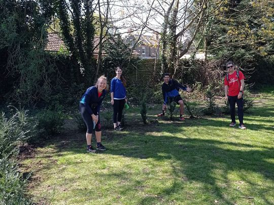 Cator-ing for and planting saplings in Cator Park