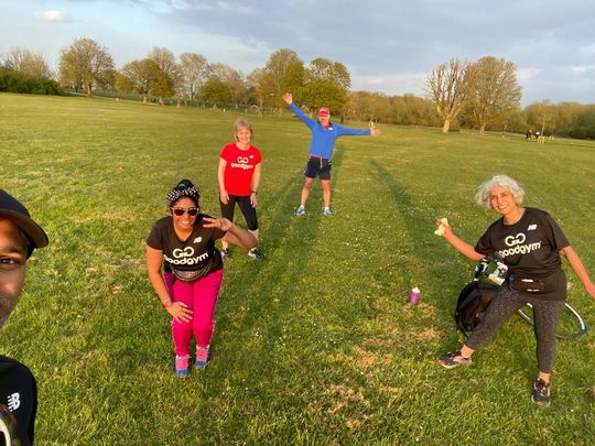 Fantastic four fitness session