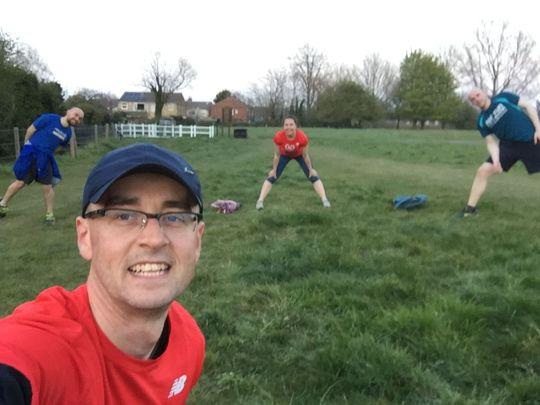 Training run on Hob Moor