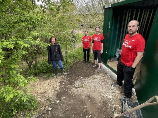 Pastures new for some Goodgym members