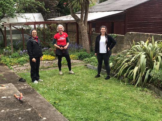Wonderful time in the garden