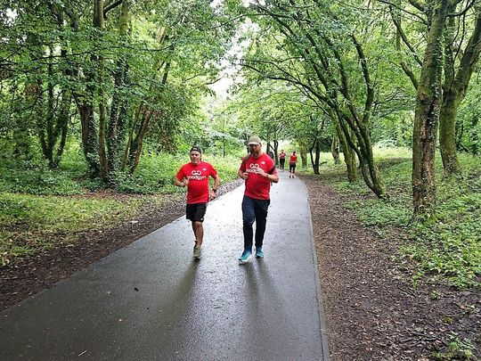 Social Goodgym run - The Great Get Together