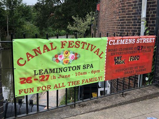 Leamington Canal Festival was a LOTT of Fun!