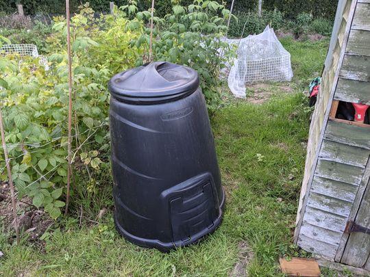 Compost? That's a bit degrading