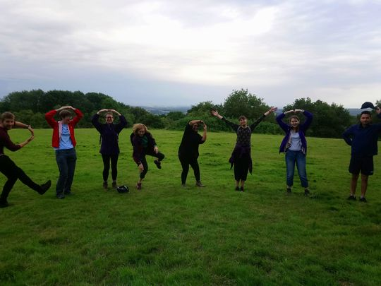 Walking Group - We shot up and over Shotover