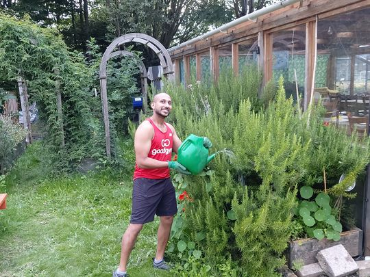 Watering can can