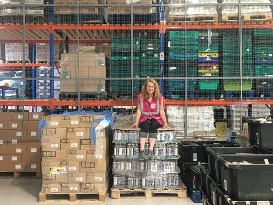 City Harvest Warehouse Workout