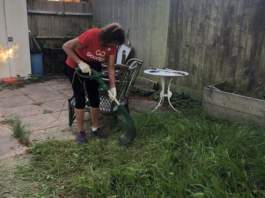 We love gardening big thyme