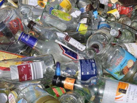 96 Green Bottles