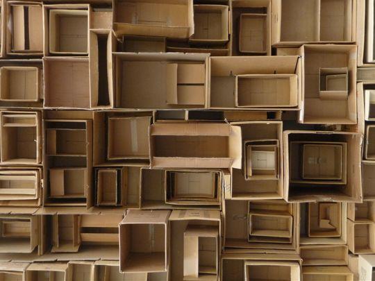 Boxes within boxes within boxes within the garage