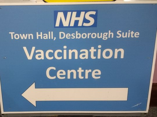Triple Whammy at the Vaccination Centre