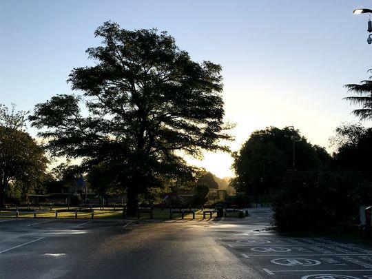 Salt Hill Sunrise