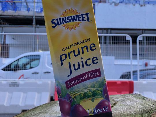 "I repeat - ""Do not panic buy Prune Juice""..."