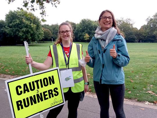 Caution ⚠️ Runners