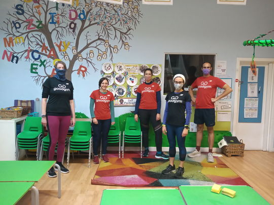 Heavy Lifting at the GoodGym