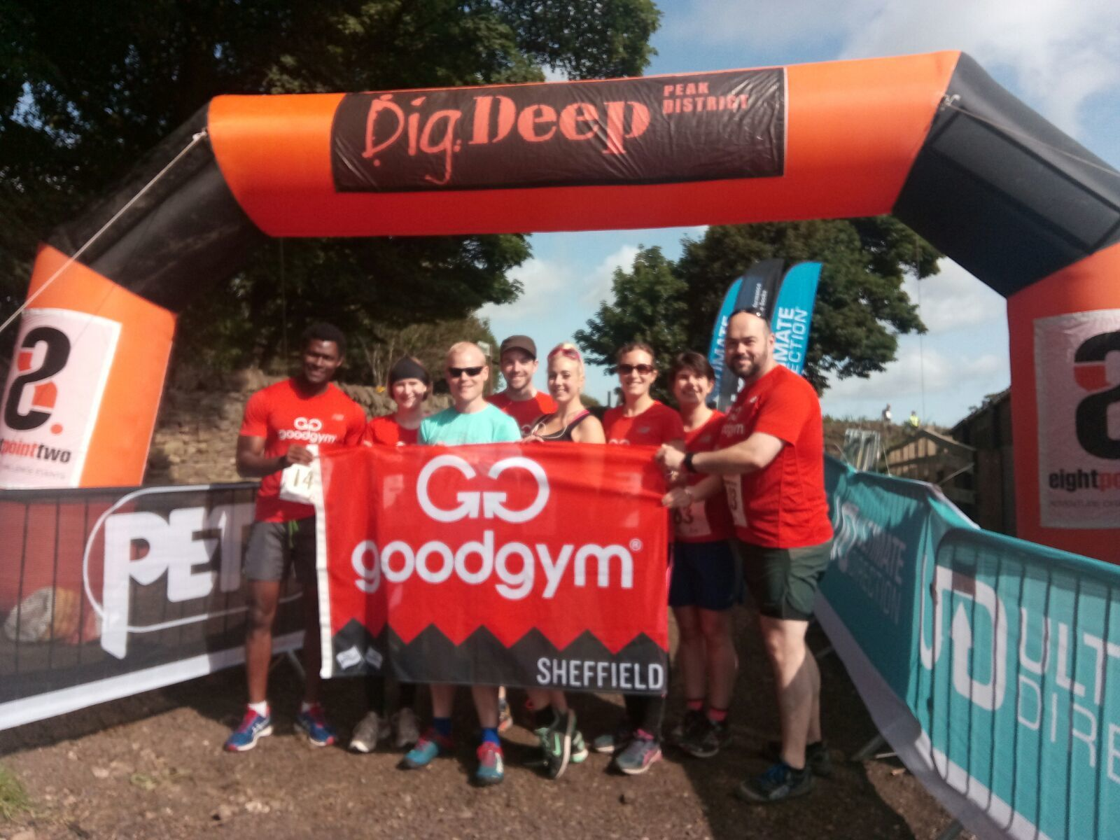 Over the hills and far away, GoodGym Sheffield ran 10k!