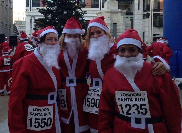 Christmas Run Park.Goodgym Goodgym Lewisham Run Through Christmas Race