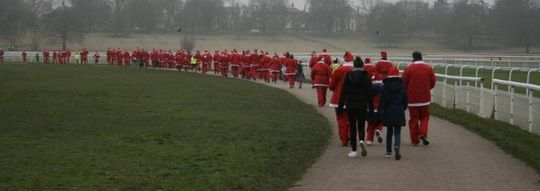 Christmas Parkrun.Goodgym York Christmas Day Parkrun York