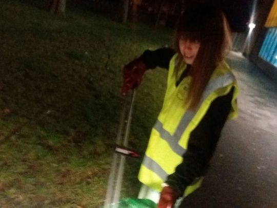 I just love litter picking it makes me so excited I sometimes cry tears of joy!... for 10 consecutive days :)