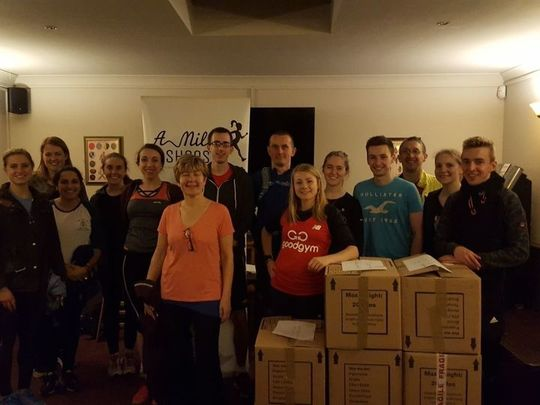 Helping at The Night Shelter & Sorting Donations For AMIHS!