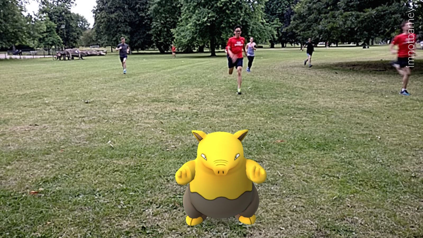 Rapidash to the Portico or weedle-ing in Ruskin Garden, you Pikachoose