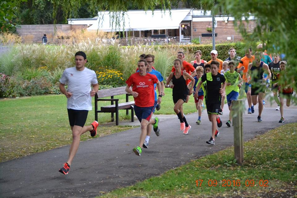 Lots of fun at Chelmsford Parkrun!