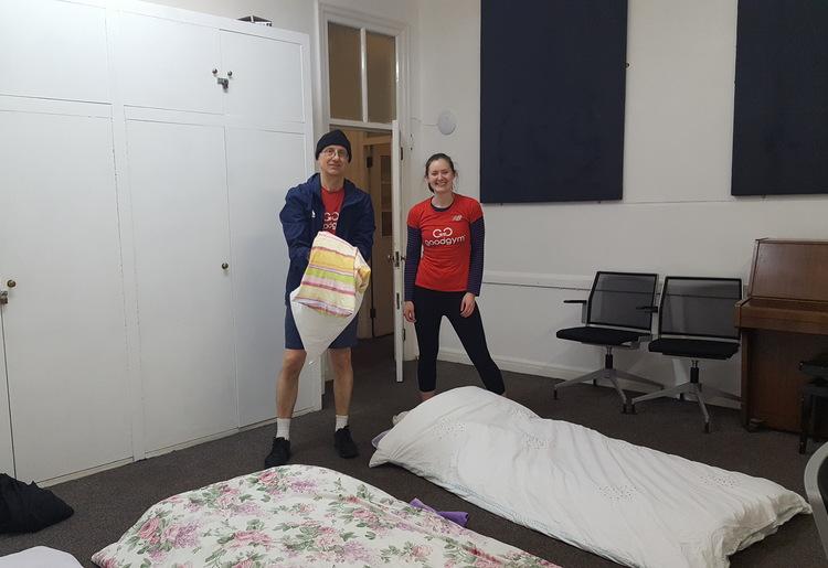 Goodgym Camden Bed Spreading