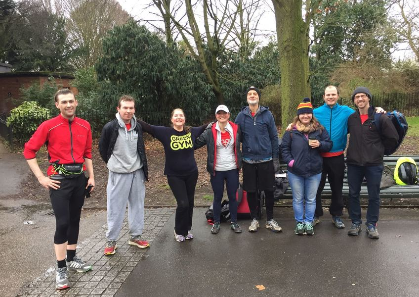 GoodGym Time Trail - Regents Park Edition