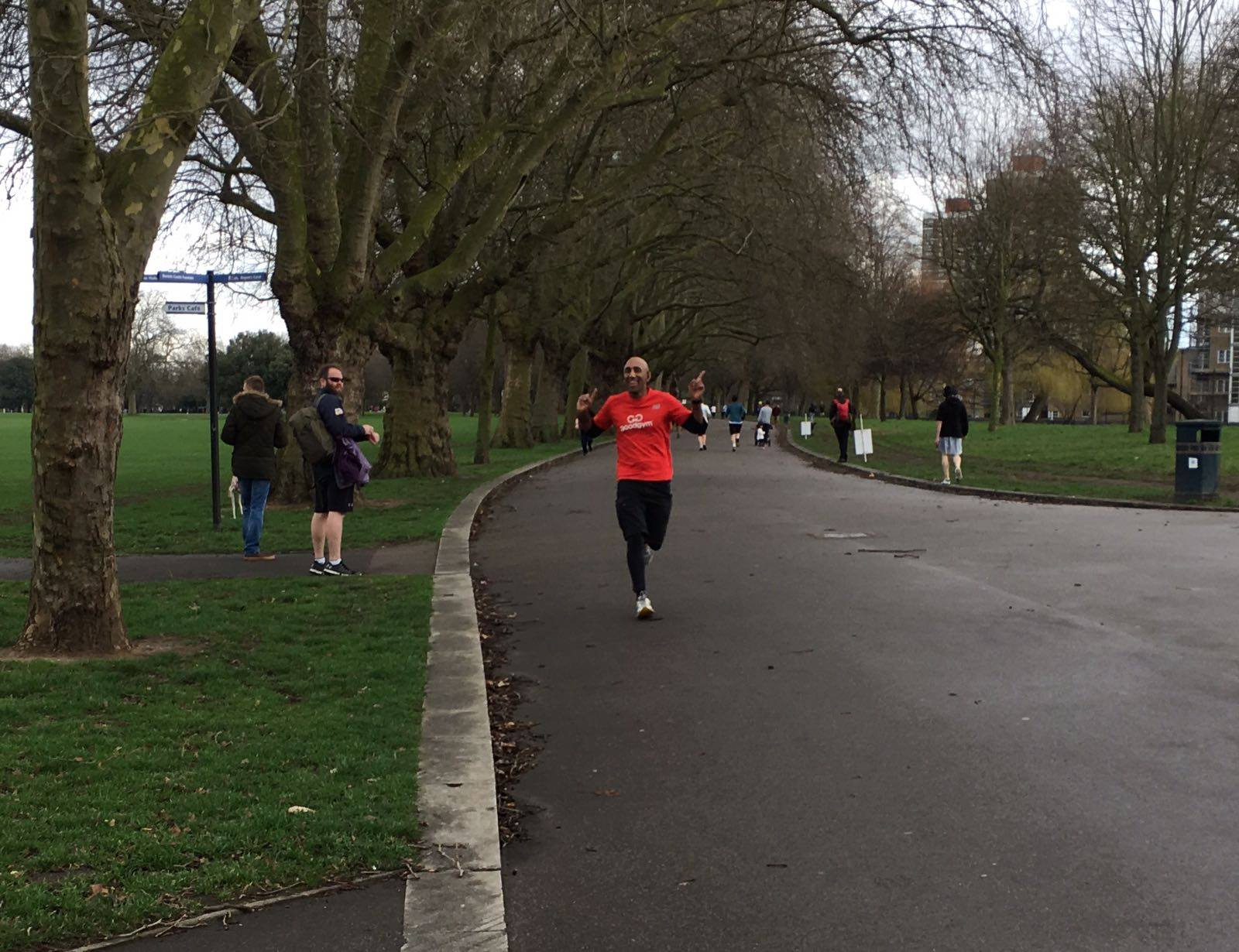 GoodGym Time Trial - Victoria Park Edition
