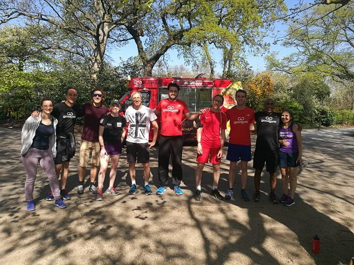 GoodGym Time Trail - Battersea Park Edition