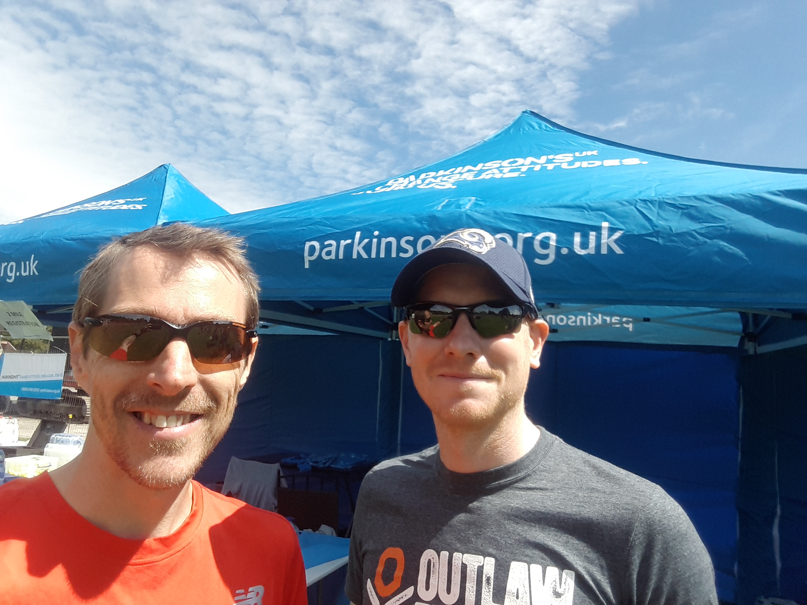 on a mission with Parkinson's UK