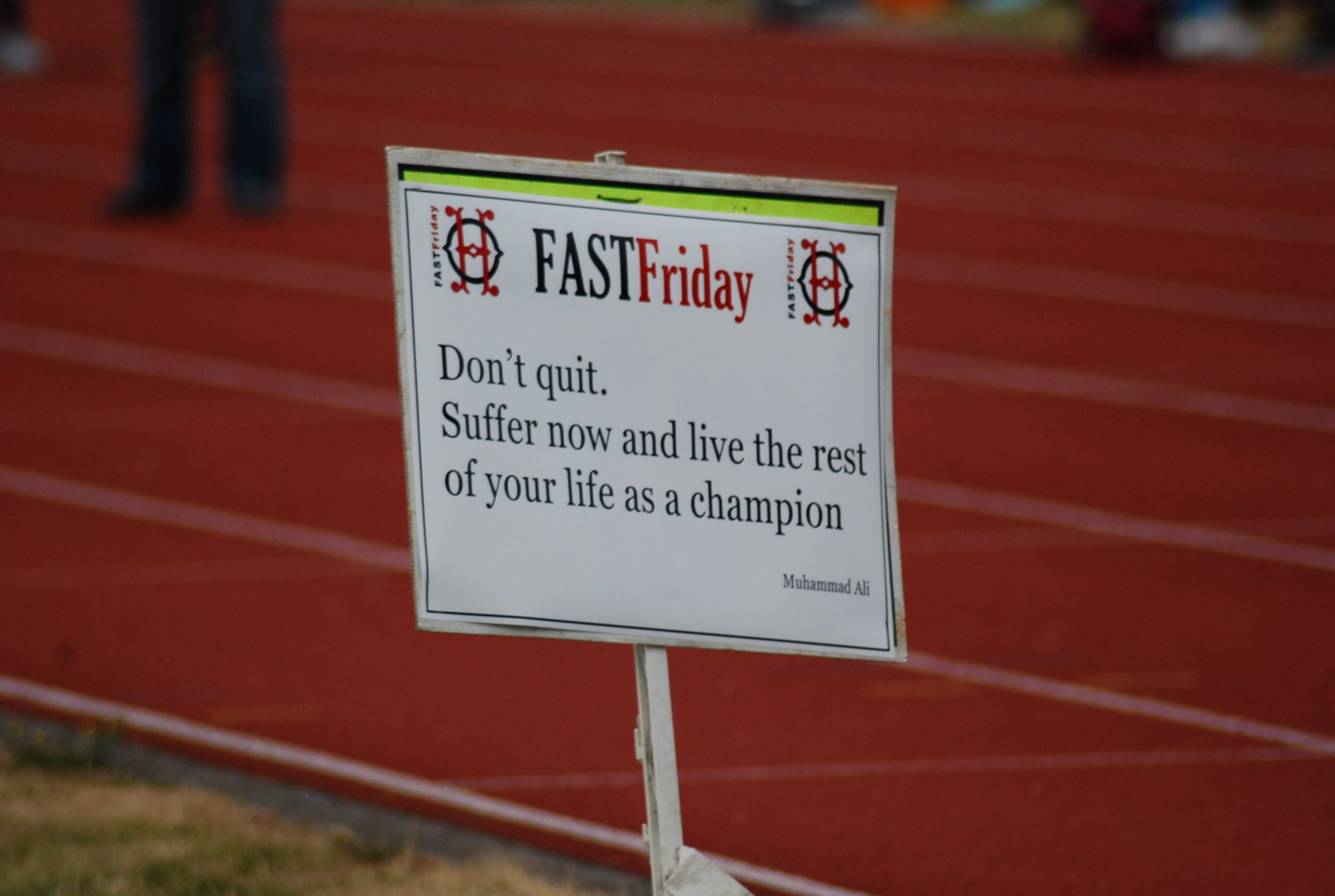 #FastFriday at Walthamstow track