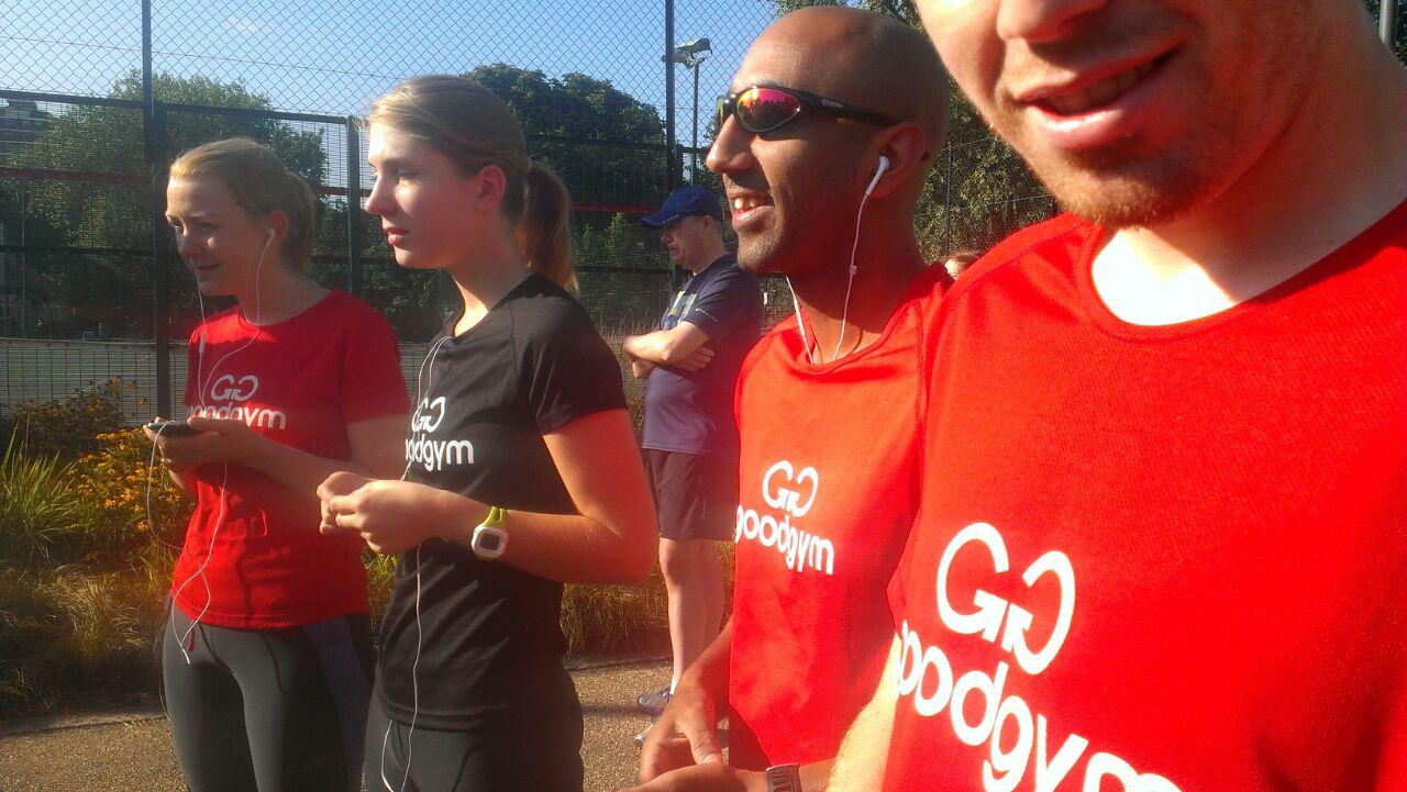 GoodGym Parkrun Tour - Stage 2